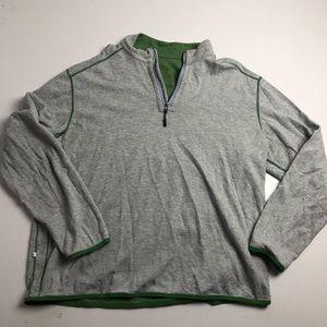 Tommy Bahama Reversible Quarter Zip Sweater